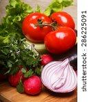 vegetables for salad  good food ...