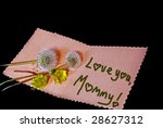 Dandelions On Mother's Day Card