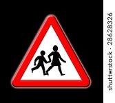 school crossing | Shutterstock . vector #28628326