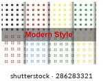 patterns designed with lines  | Shutterstock . vector #286283321