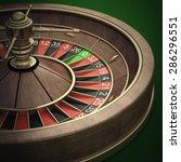 casino roulette wheel. high... | Shutterstock . vector #286296551
