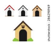 dogs home | Shutterstock .eps vector #286298969