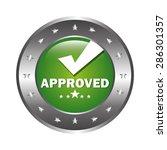 label design over white...   Shutterstock .eps vector #286301357