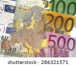 Monetary Union Europe   Map Of...