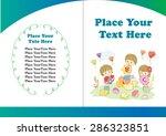 kids book cover design | Shutterstock .eps vector #286323851
