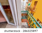 colorful traditional italian... | Shutterstock . vector #286325897