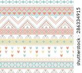 tribal patterns   Shutterstock .eps vector #286334915