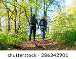 hiking couple | Shutterstock . vector #286342901
