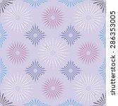 fabric or vintage wallpaper ... | Shutterstock .eps vector #286353005