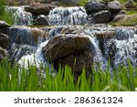 Stones Water Waterfall Fall...
