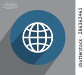 the globe icon. globe symbol.