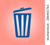 trash can icon  vector eps10... | Shutterstock .eps vector #286401761