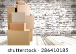 box  moving office  moving... | Shutterstock . vector #286410185