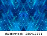 abstract mosaic geometrical... | Shutterstock . vector #286411931