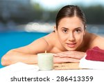 summer  care  face. | Shutterstock . vector #286413359