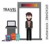 travel design over white... | Shutterstock .eps vector #286424165
