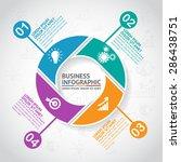 business infographic | Shutterstock .eps vector #286438751