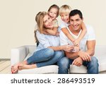 father  day  son. | Shutterstock . vector #286493519