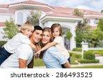 father  day  children. | Shutterstock . vector #286493525