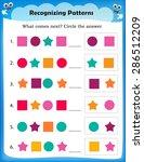 worksheet understanding... | Shutterstock .eps vector #286512209