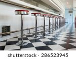 Kitchen In A American Diner...