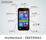 creative infographic template... | Shutterstock .eps vector #286534661