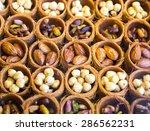 eastern sweets in a wide range  ... | Shutterstock . vector #286562231
