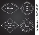vector design templates for... | Shutterstock .eps vector #286567325
