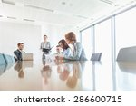 cabinets in office | Shutterstock . vector #286600715