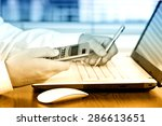 business accounting  | Shutterstock . vector #286613651