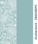 template frame  design for... | Shutterstock .eps vector #286648091