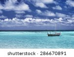 Little Boat In The Sea  Fishin...