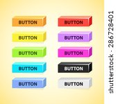 colorful set of 3d box buttons | Shutterstock .eps vector #286728401