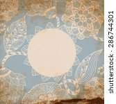 floral pattern background   Shutterstock .eps vector #286744301