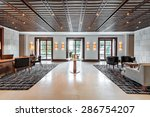 office and waiting room in a... | Shutterstock . vector #286754207