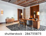 luxury office room interior | Shutterstock . vector #286755875