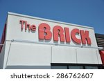 north bay  ontario  canada  ... | Shutterstock . vector #286762607