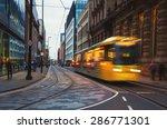 Light Rail Metrolink Tram In...