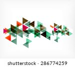 triangle pattern composition