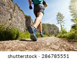 outdoor cross country running... | Shutterstock . vector #286785551