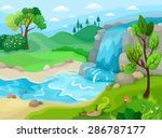 vector illustration of a... | Shutterstock .eps vector #286787177