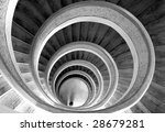Circular Stairs In Temple....