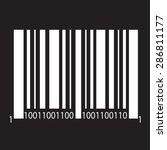 bar code icon | Shutterstock .eps vector #286811177