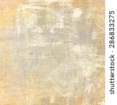 Stock photo computer designed impressionist style vintage texture or background 286833275