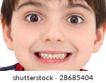 adorable caucasian six year old ... | Shutterstock . vector #28685404