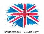 vector watercolour flag of the... | Shutterstock .eps vector #286856594