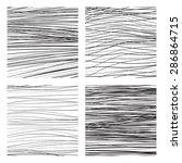 abstract vector backgrounds set ...   Shutterstock .eps vector #286864715