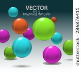 Vector Colorful Background Wit...