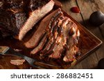Homemade Smoked Barbecue Beef...