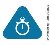 stopwatch icon.   Shutterstock .eps vector #286892831